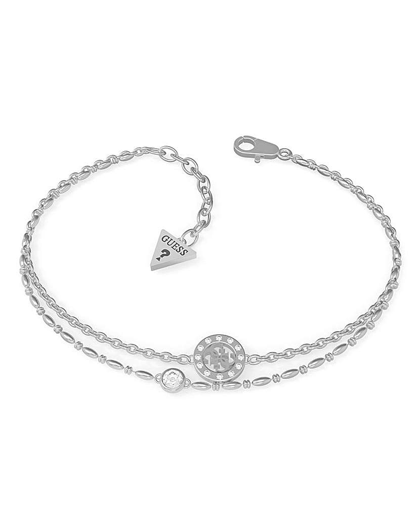 Guess Guess Miniature Silver Bracelet