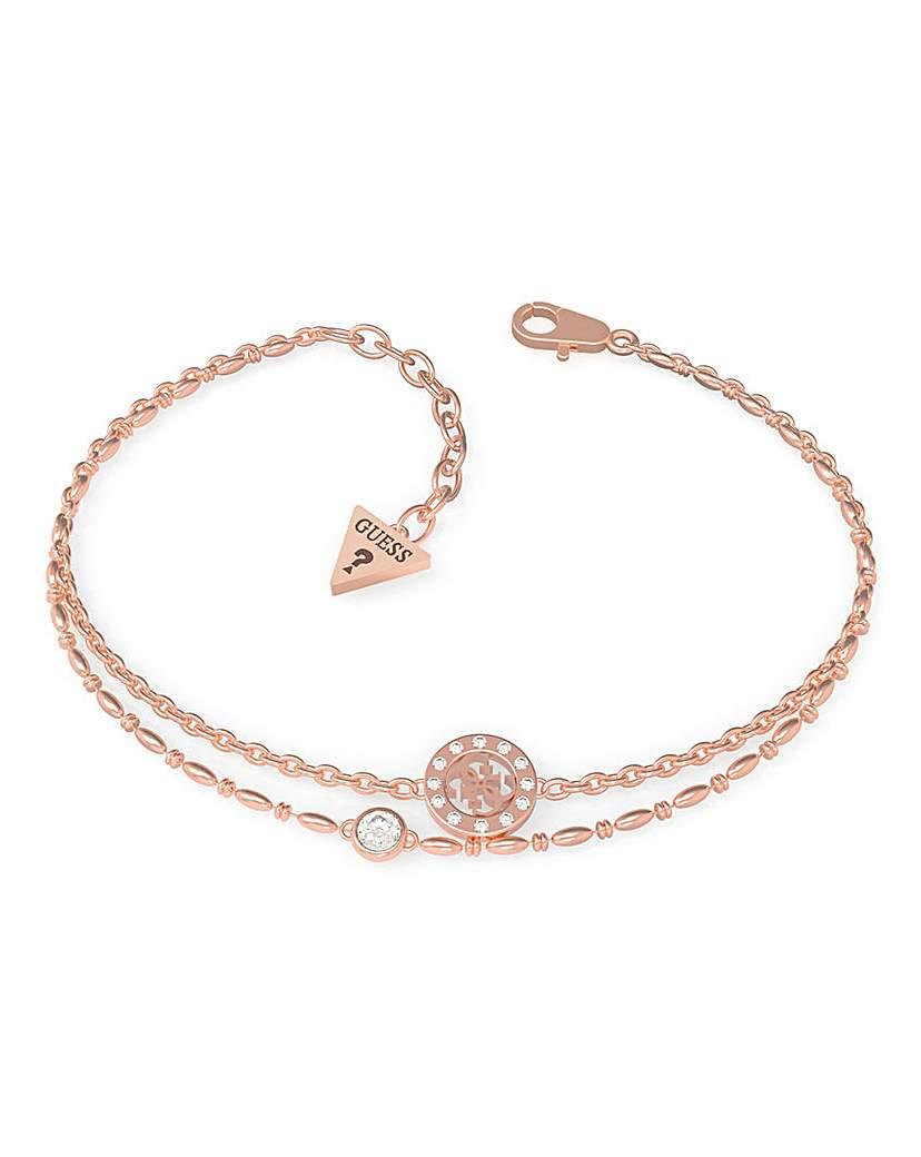 Guess Guess Miniature Rose Gold Bracelet