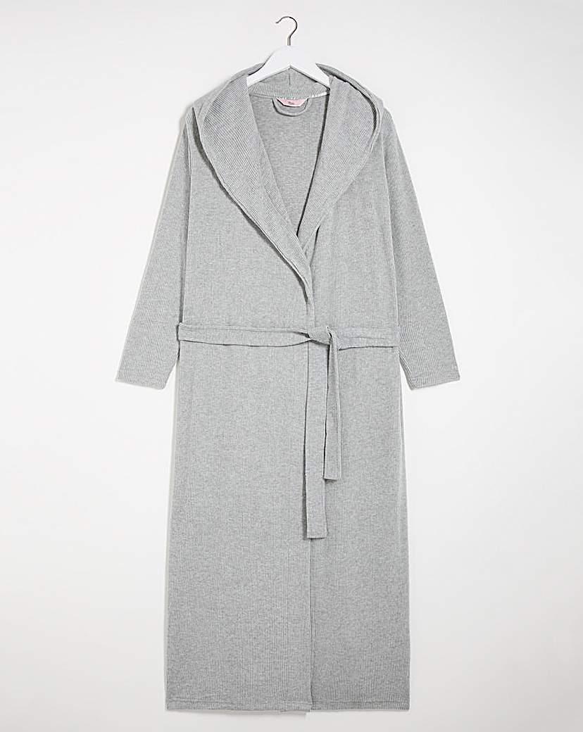 Boux Avenue Boux Avenue Lillie Ribbed Lounge Robe