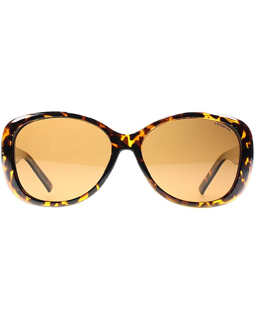 Polaroid Classic Oval Sunglasses