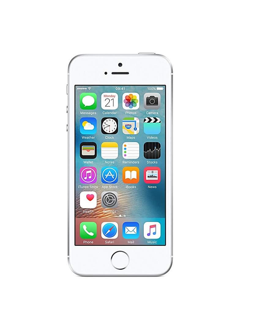iPhone SE 16GB Silver  – Bundle