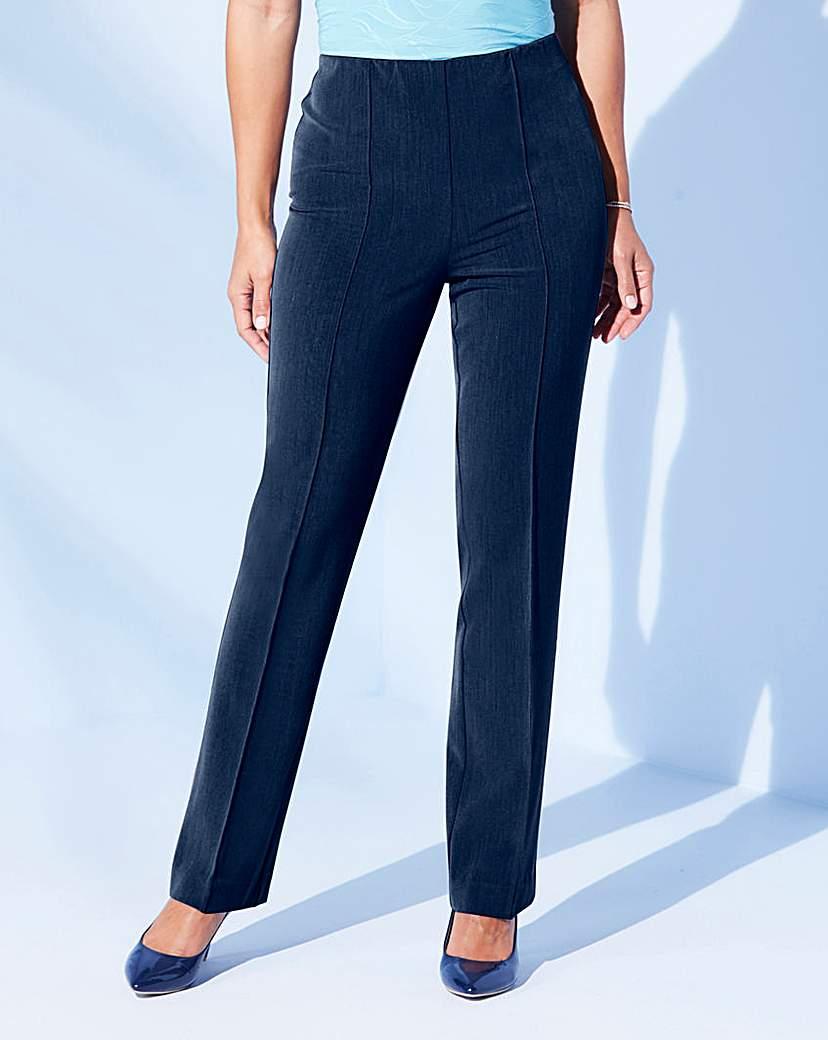 1960s Pants – Top 10 Styles for Women Julipa Pull-On Comfort-Fit Trouser Short £20.00 AT vintagedancer.com