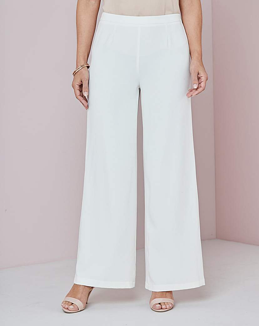 Did Women Wear Pants in the 1920s? Yes! sort of… Wide Leg Crepe Trouser £29.00 AT vintagedancer.com