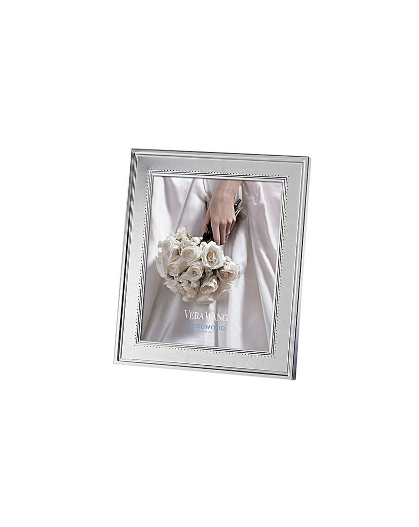 Image of Vera Wang Grosgrain Photo Frame 8x10in