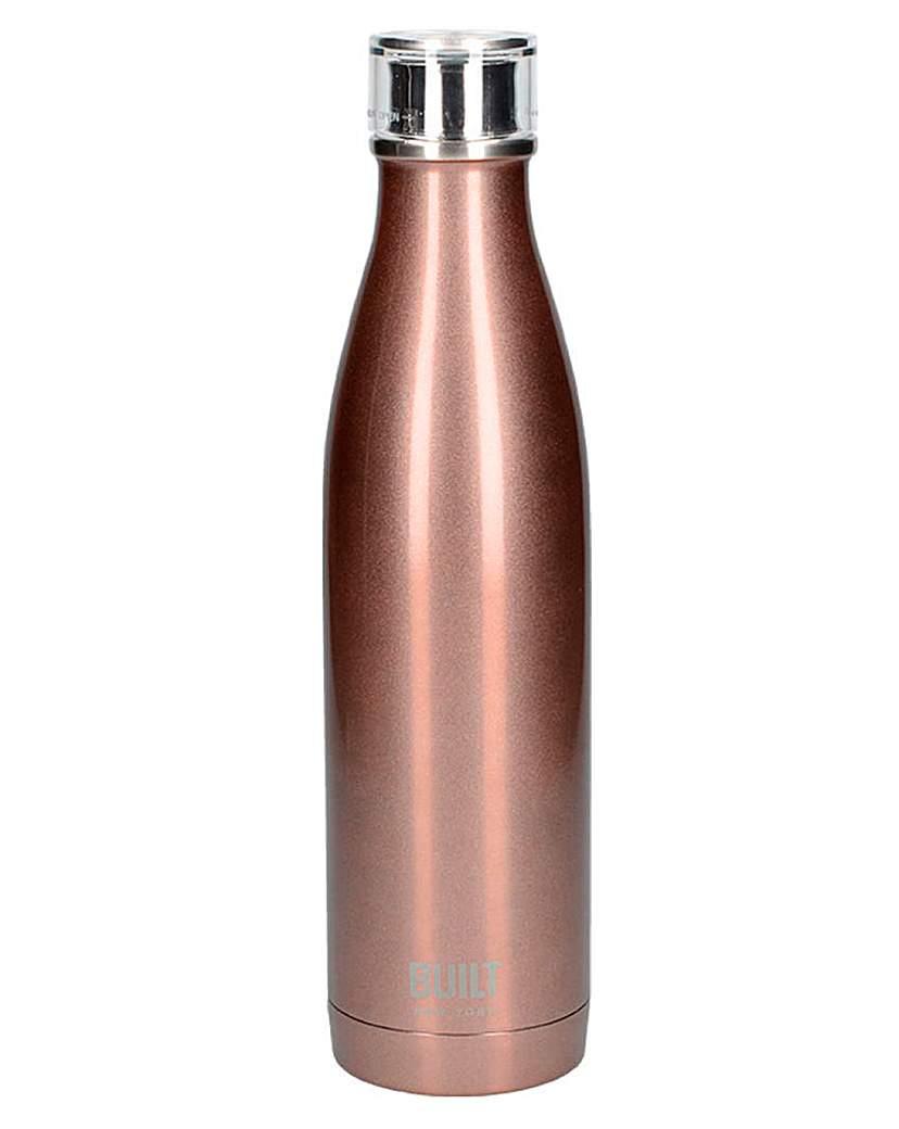 Built Metallic 750ml Water Bottle