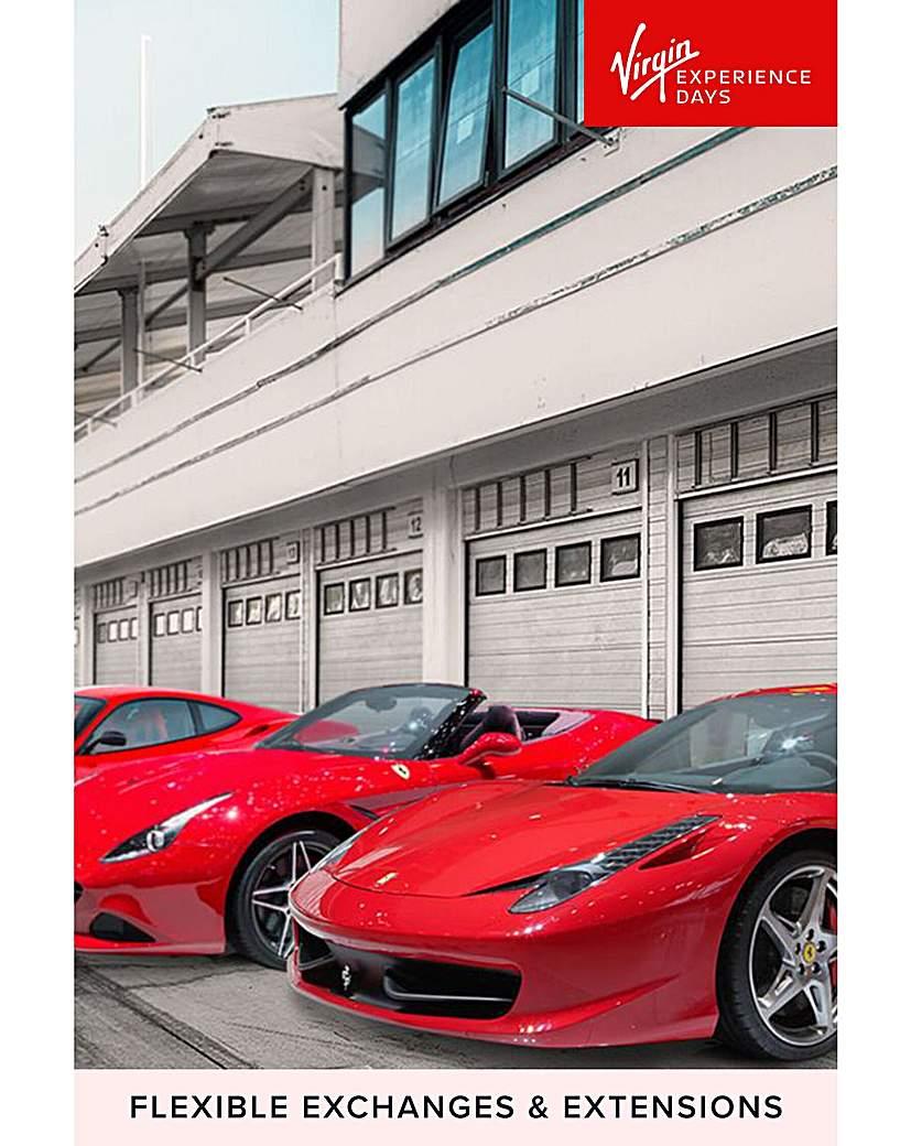 The Ultimate Ferrari Four Car Driving