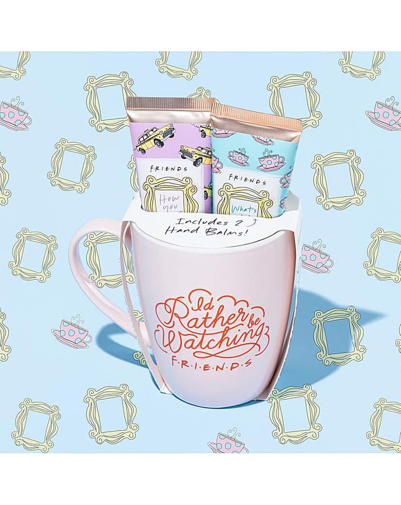 Friends Friends Mug And Hand Cream Gift Set