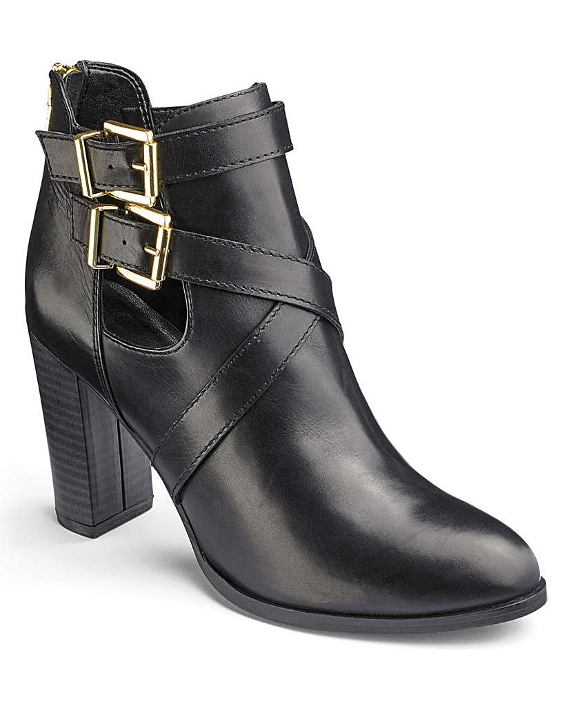 Simply Be Sole Diva Ankle Boots D Fit