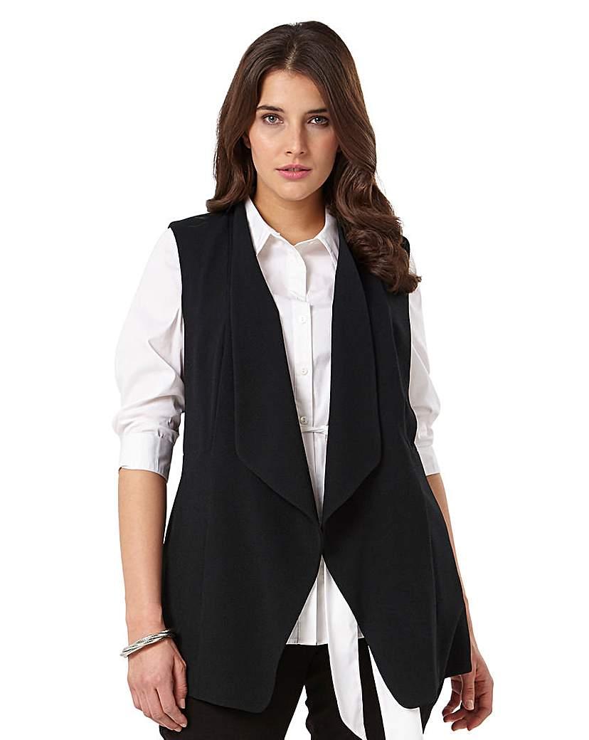 studio 8 cleo sleeveless waistcoat