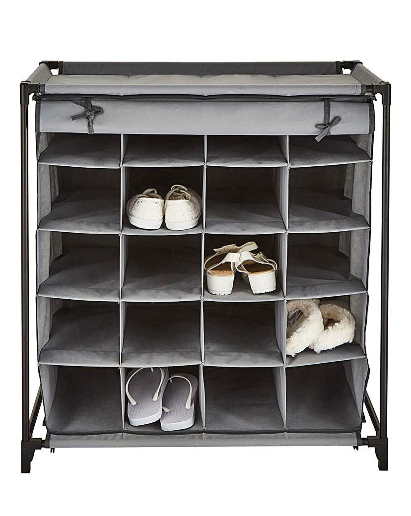 Image of 20-Grid Shoe Cabinet