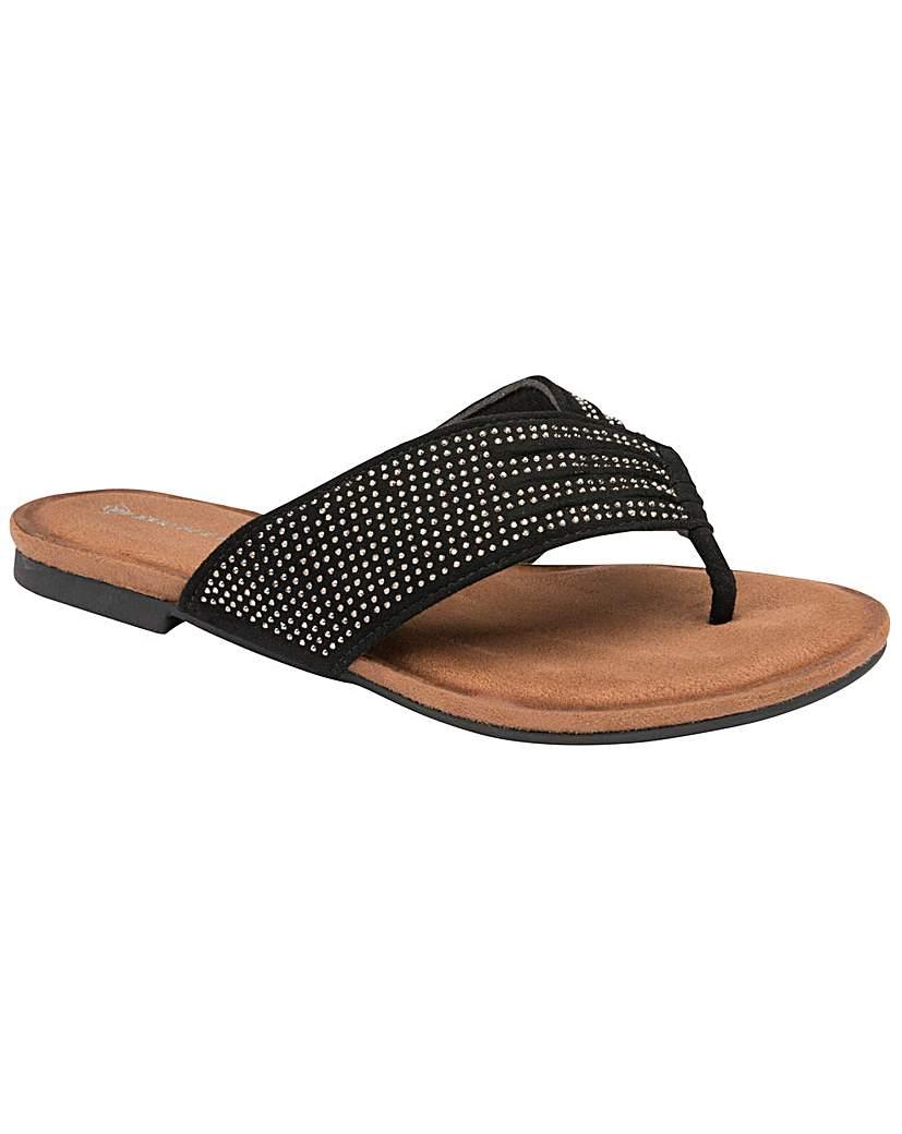 Dunlop Dunlop Clarice standard fit sandals
