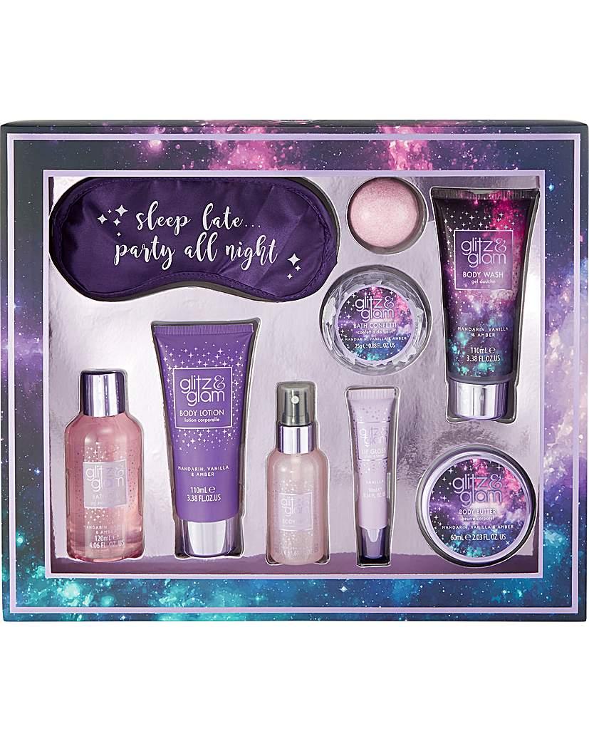 Style&Grace Glitz & Glam Galaxy Sleep Late Gift Set
