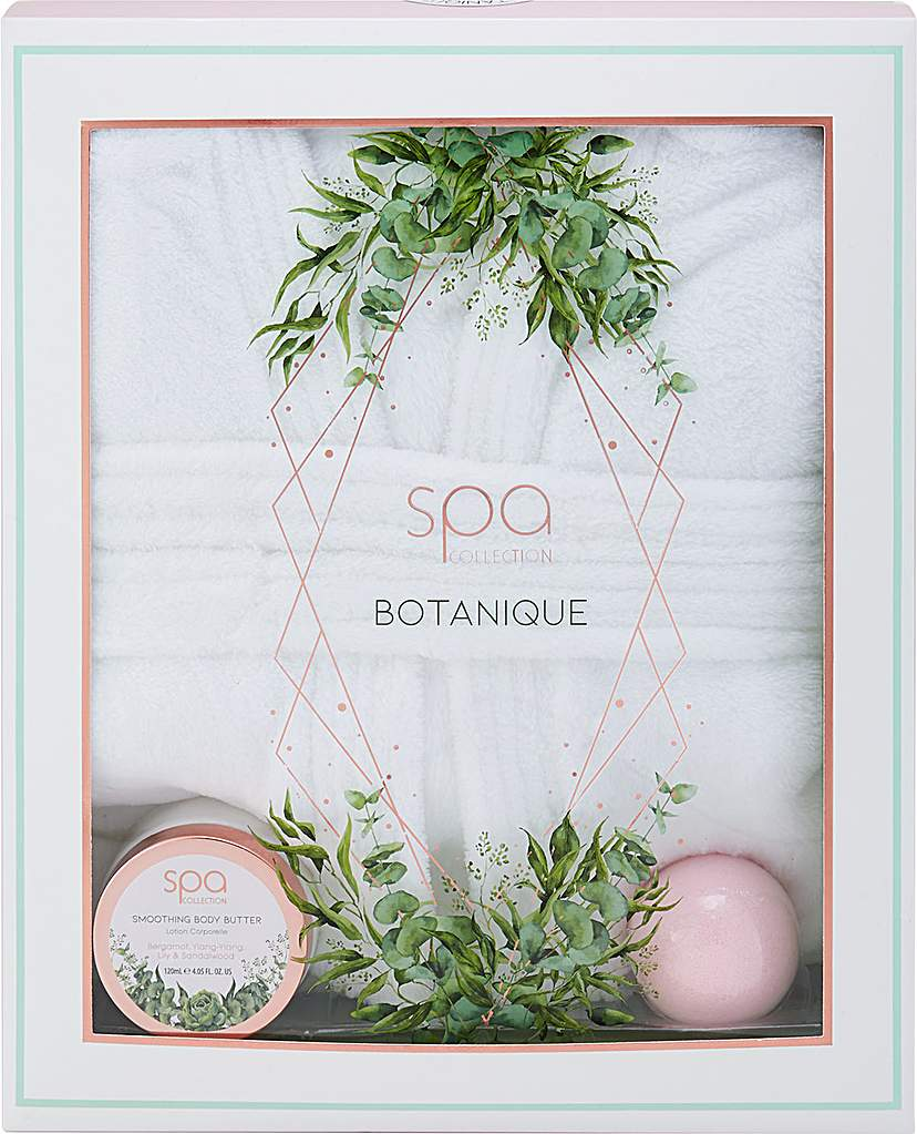 Style&Grace Spa Botanique Bath Robe Gift Set