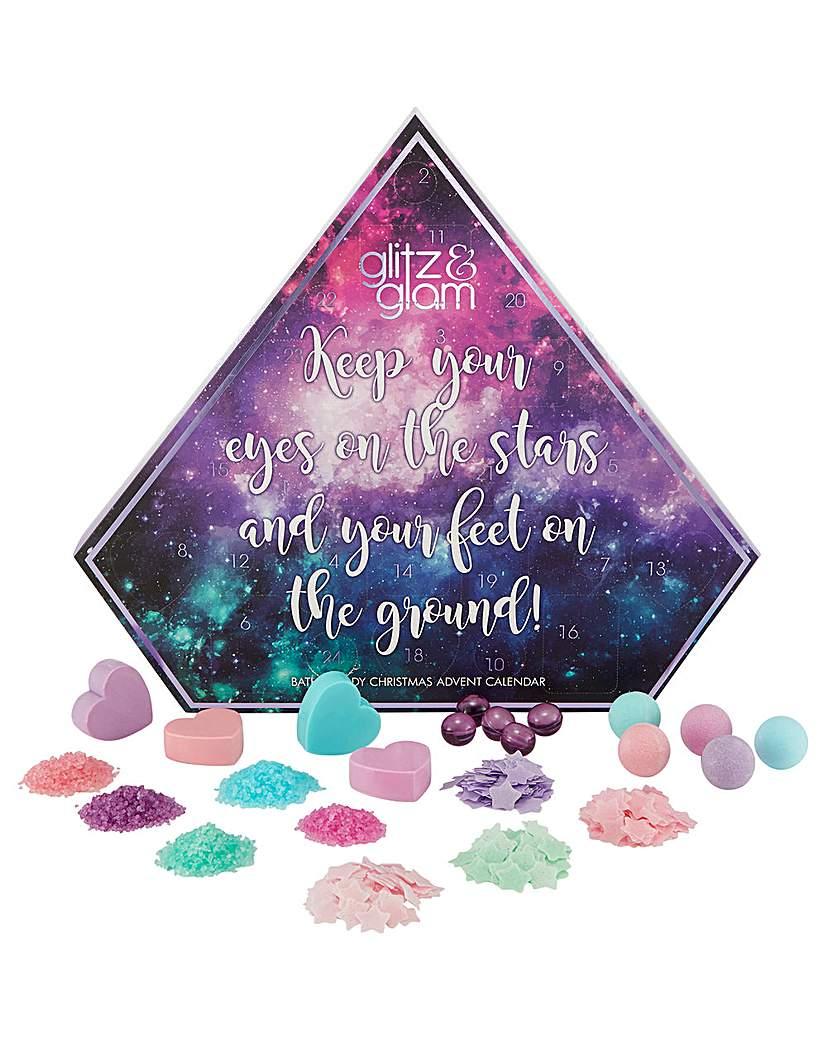 Style&Grace Glitz & Glam Galaxy Bath & Body Advent