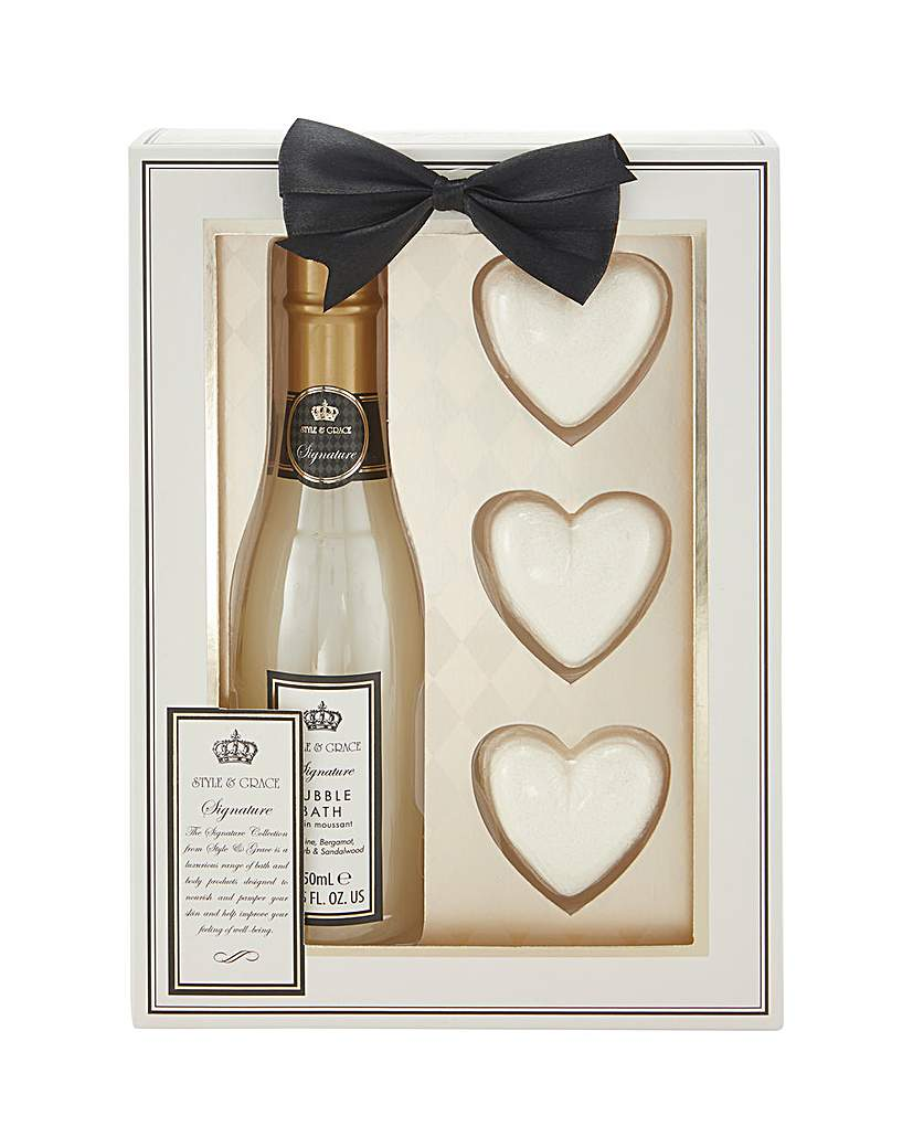 Signature Champagne Gift Set