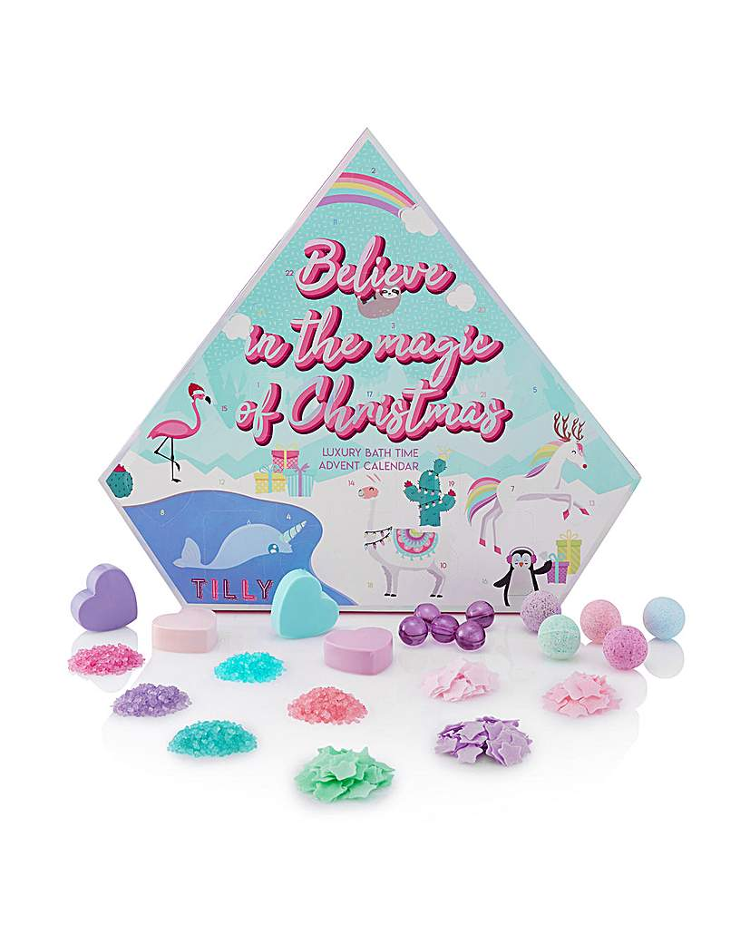Tilly Tilly Luxury Bath Time Advent Calendar
