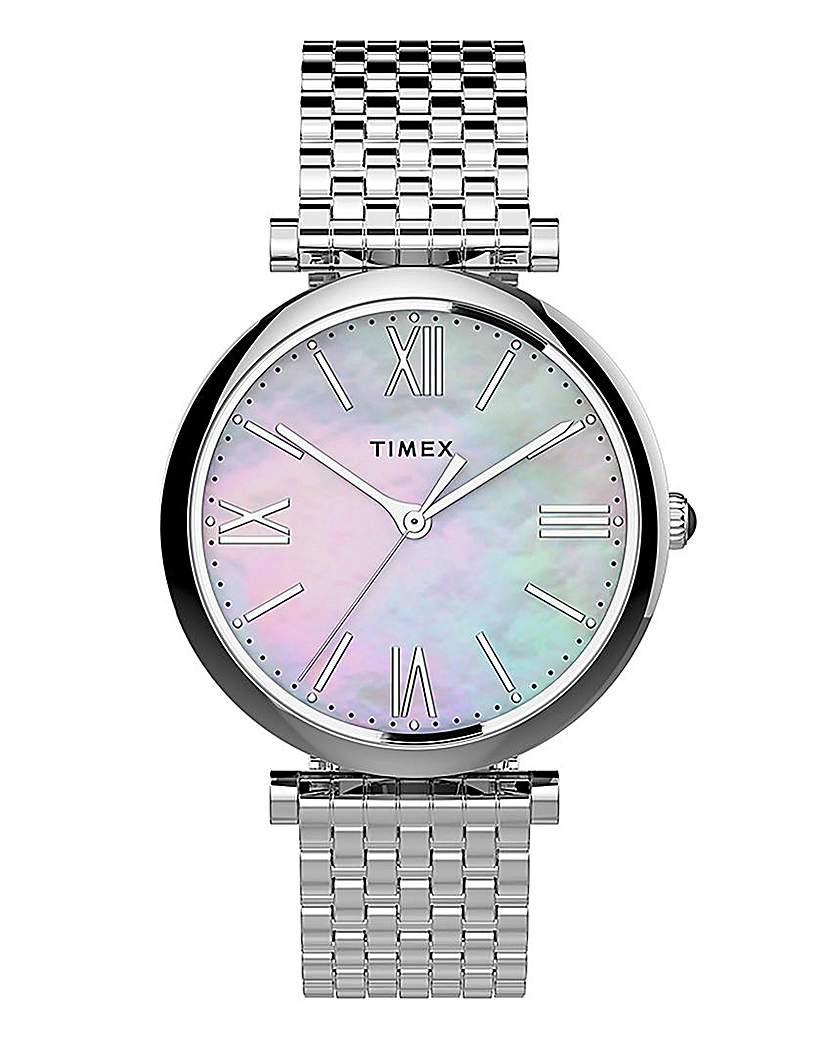 Timex Timex Parisienne Silver Bracelet Watch