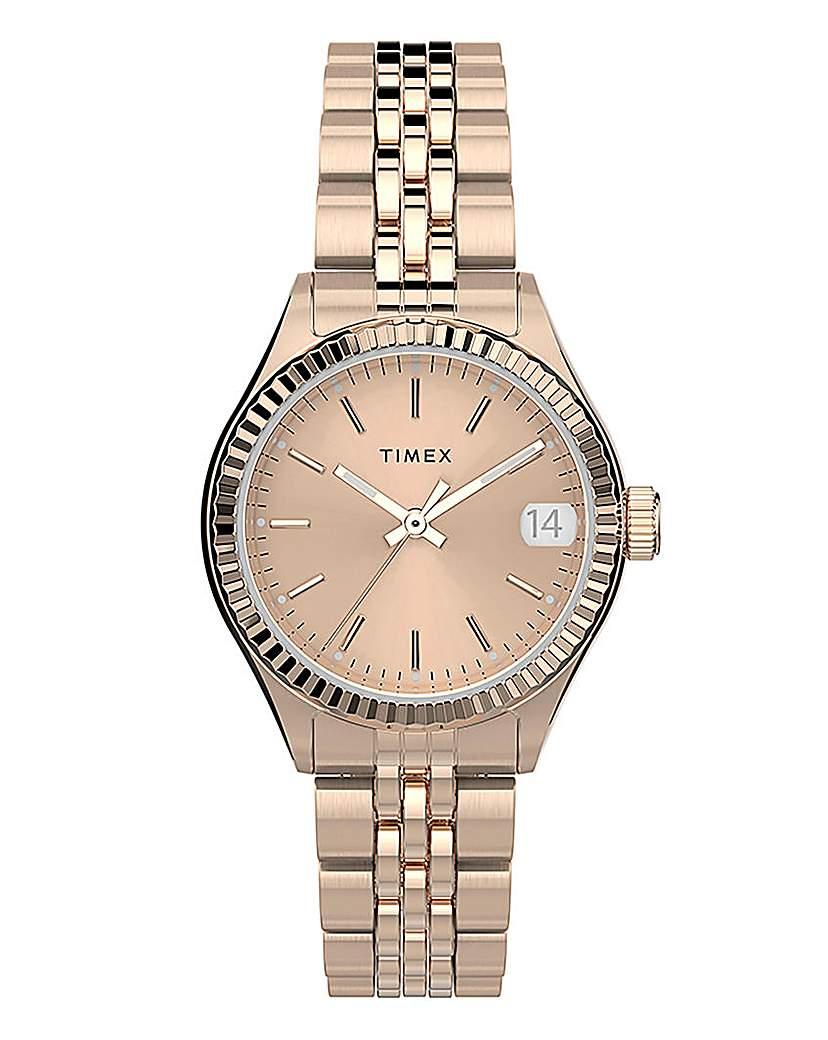 Timex Timex WaterBury Rose Gold Bracelet Watch