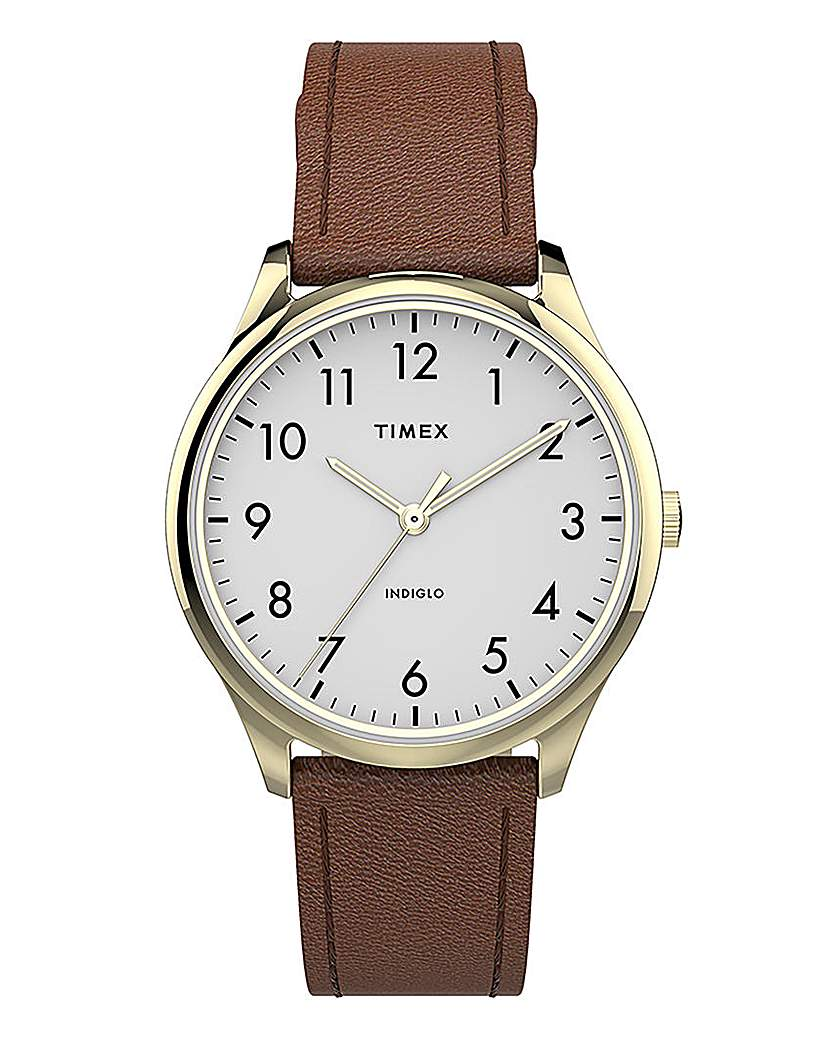 Timex Timex Classic Brown Leather Watch