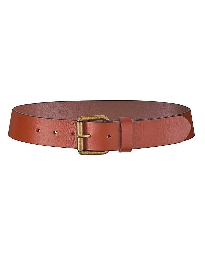 Capsule Tan Leather Jeans Belt