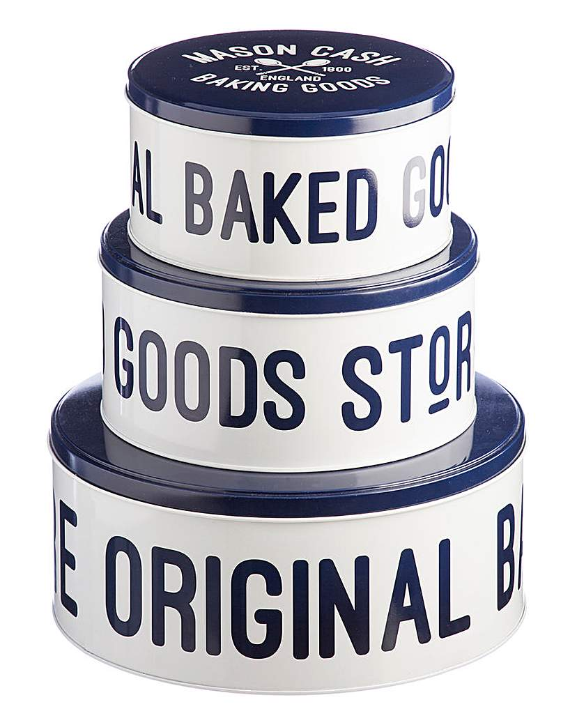 Mason Cash Varsity Set of 3 Cake Tins