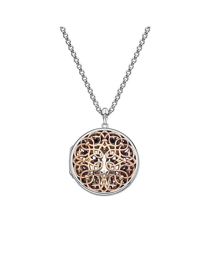 Image of Hot Diamonds Shelter Circle Locket