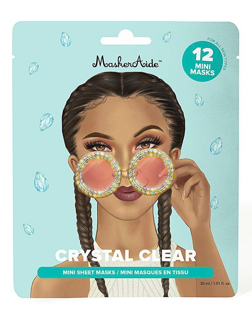 MaskerAide MaskerAide Crystal Mini Sheet Masks