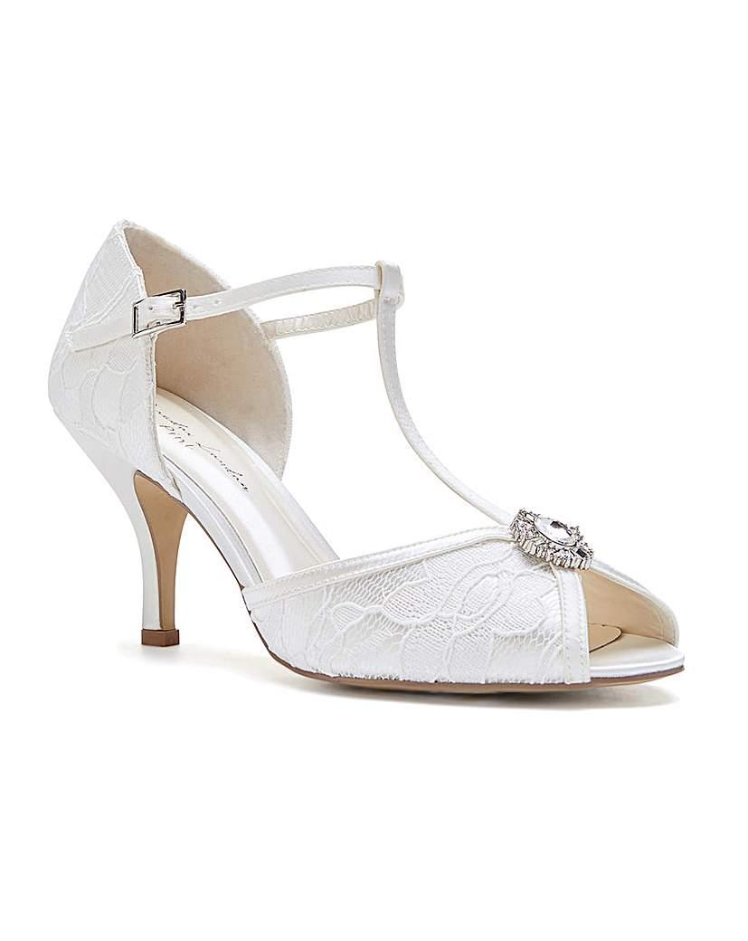 Vintage Inspired Wedding Dress | Vintage Style Wedding Dresses Paradox London Charlotte T-bar Sandals £75.00 AT vintagedancer.com