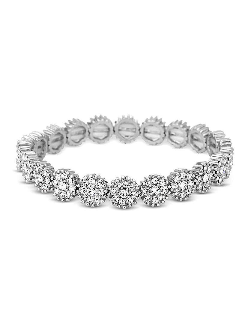 Jon Richard Crystal Stretch Bracelet