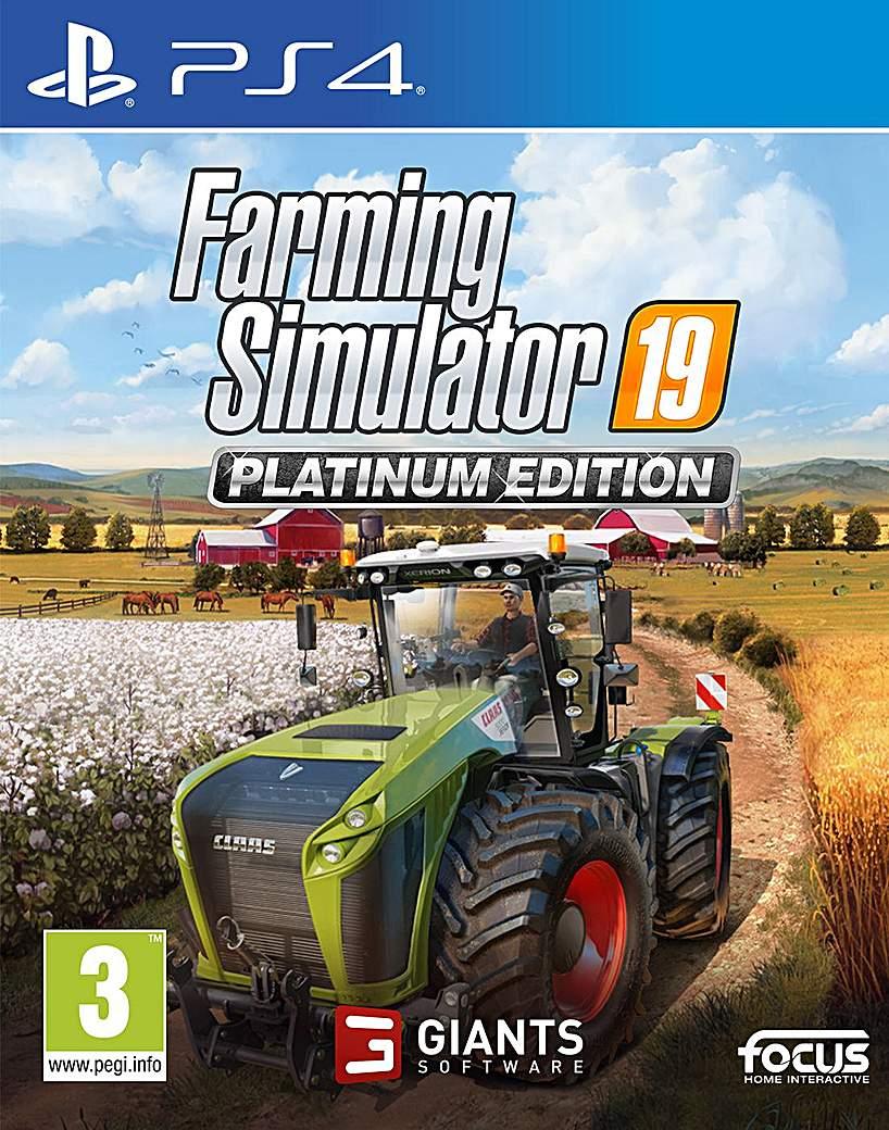 Farming Simulator 19 PlatinumEdition PS4