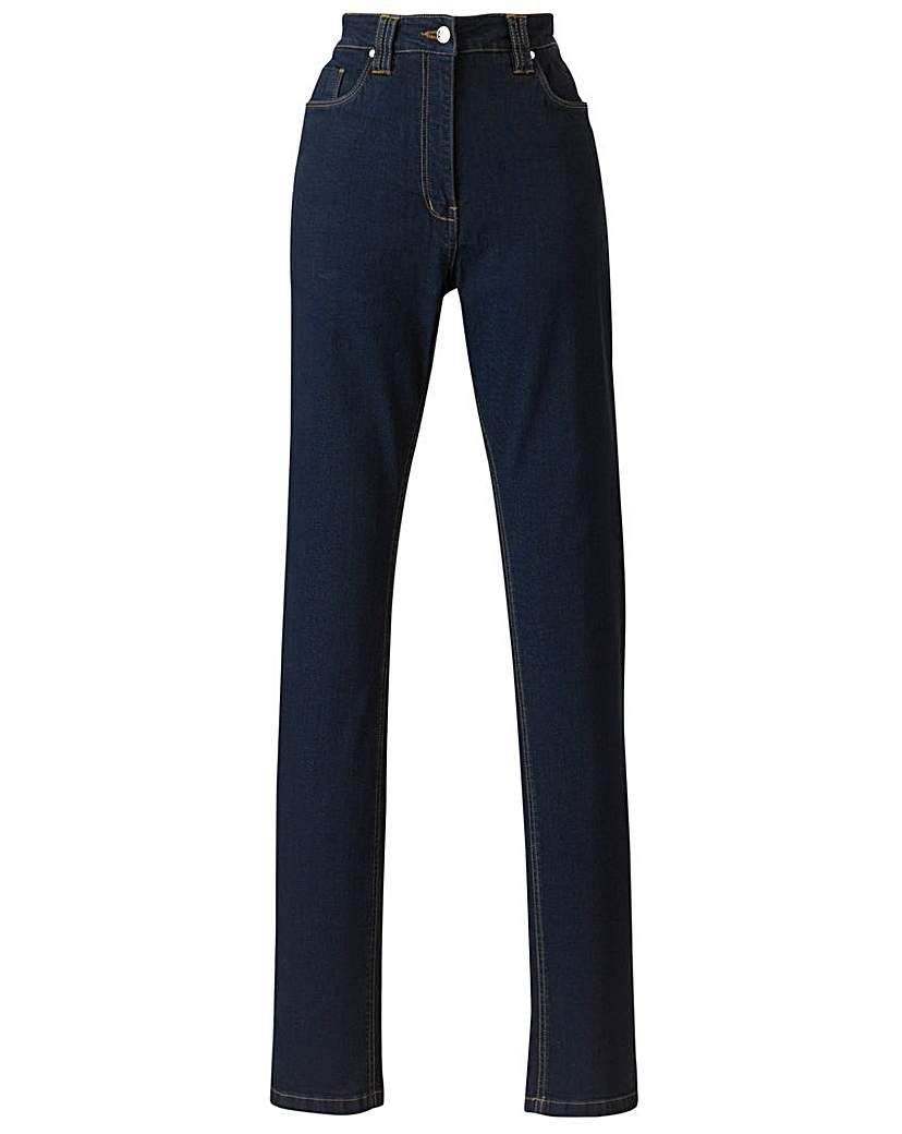 Simply Be Elle Petite Straight Leg Jeans L 25in