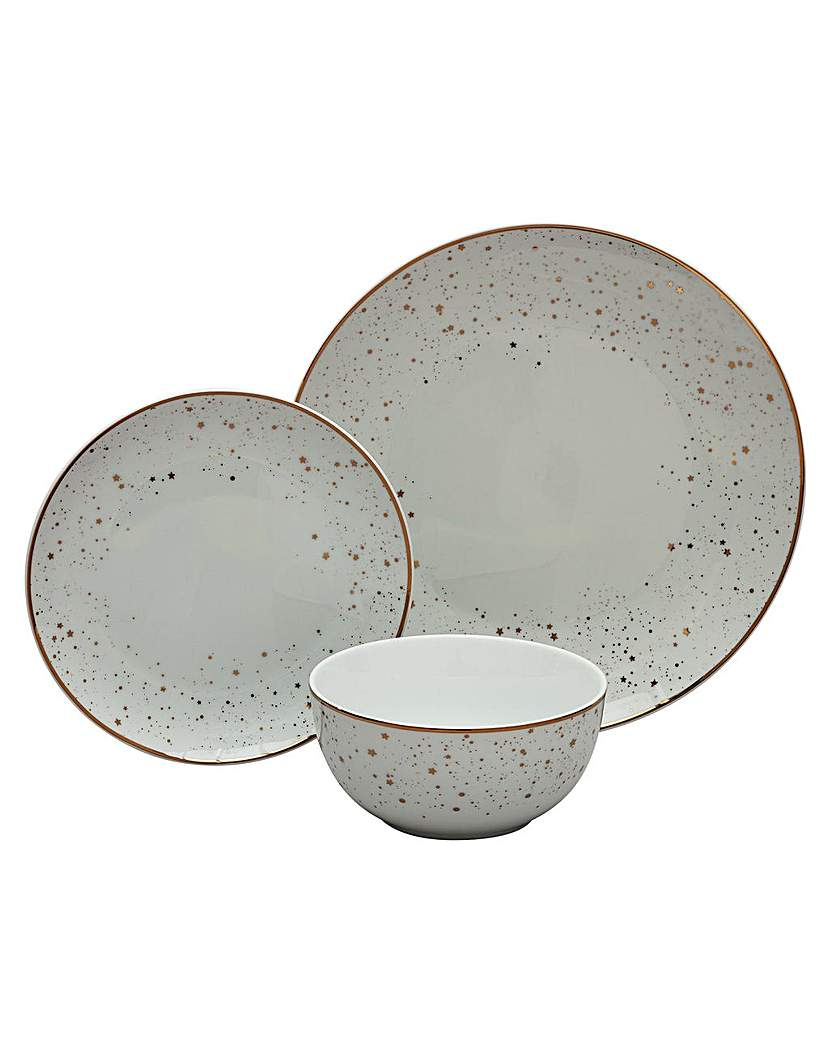 Image of 12 Piece Ceramic Dinner Set