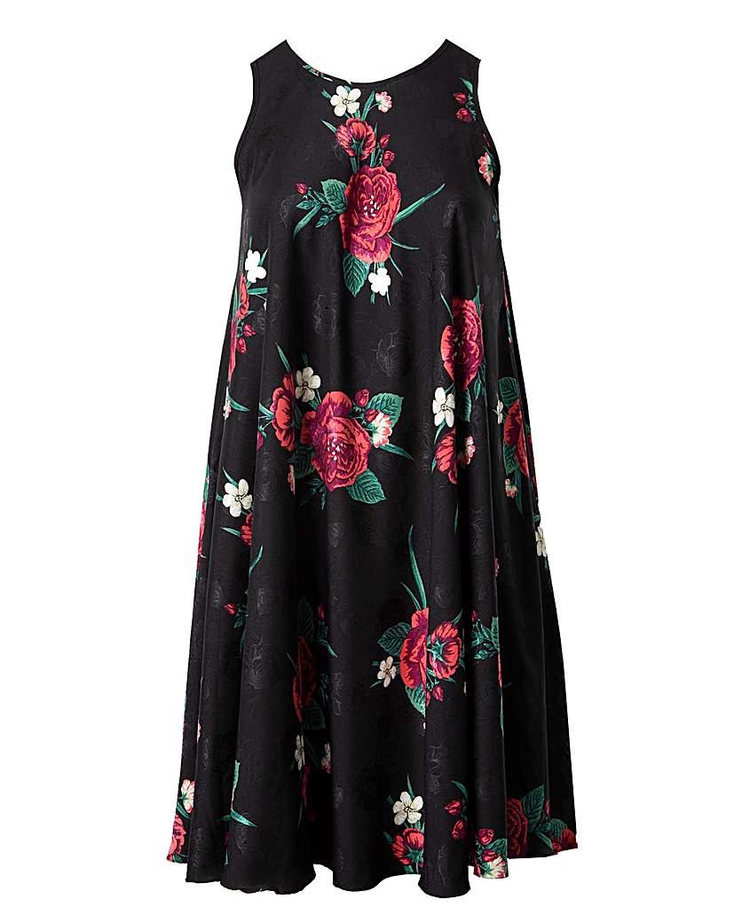 Lovedrobe GB Floral Swing Dress