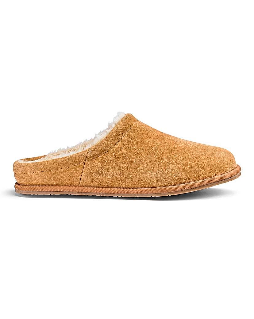 Luxury Suede Mule Slippers