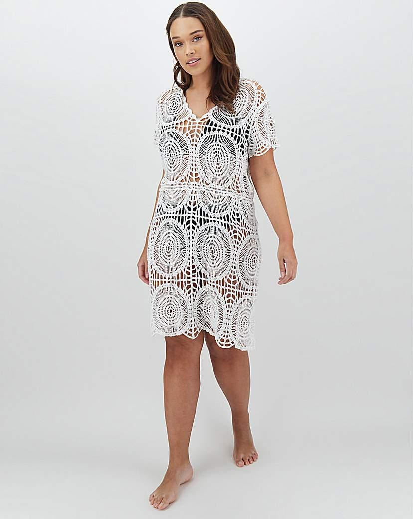 Simply Be Crochet Beach Dress