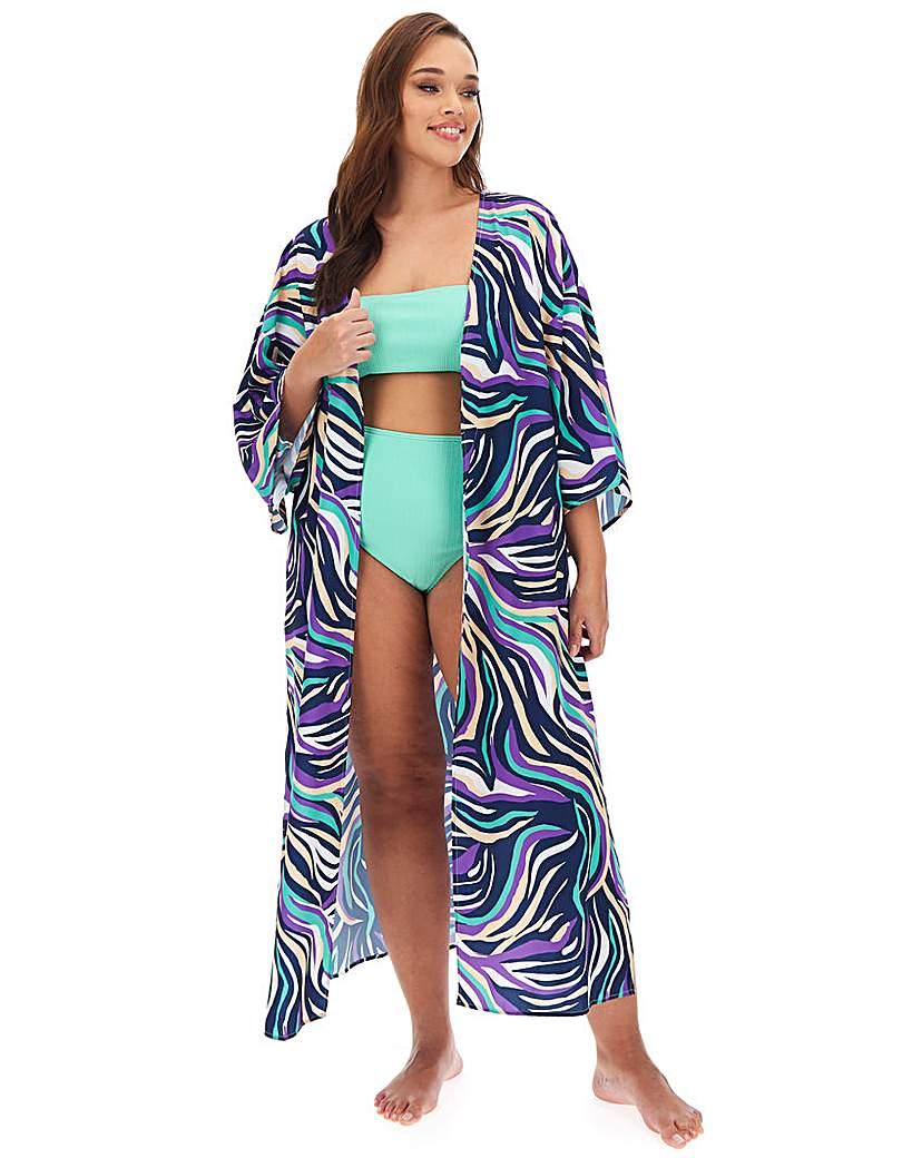 Simply Be Recycled Beach Kimono