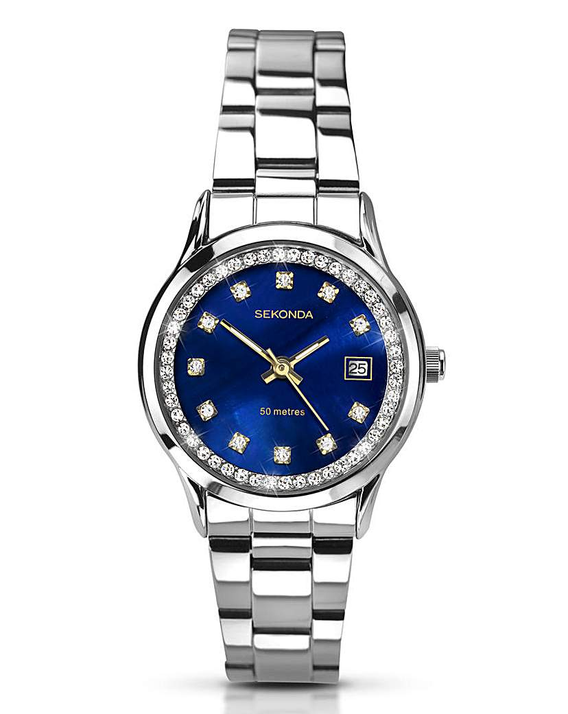 Sekonda Sekonda Ladies Blue Dial Watch