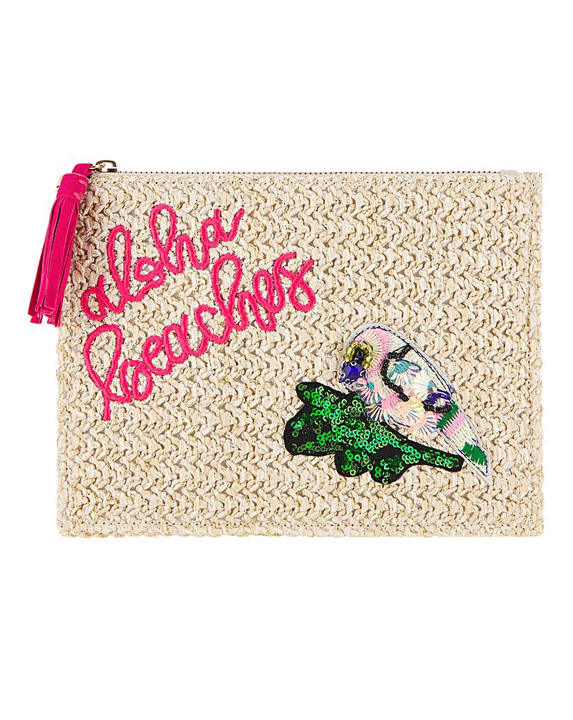 Simply Be Aloha Beaches Parrot Clutch