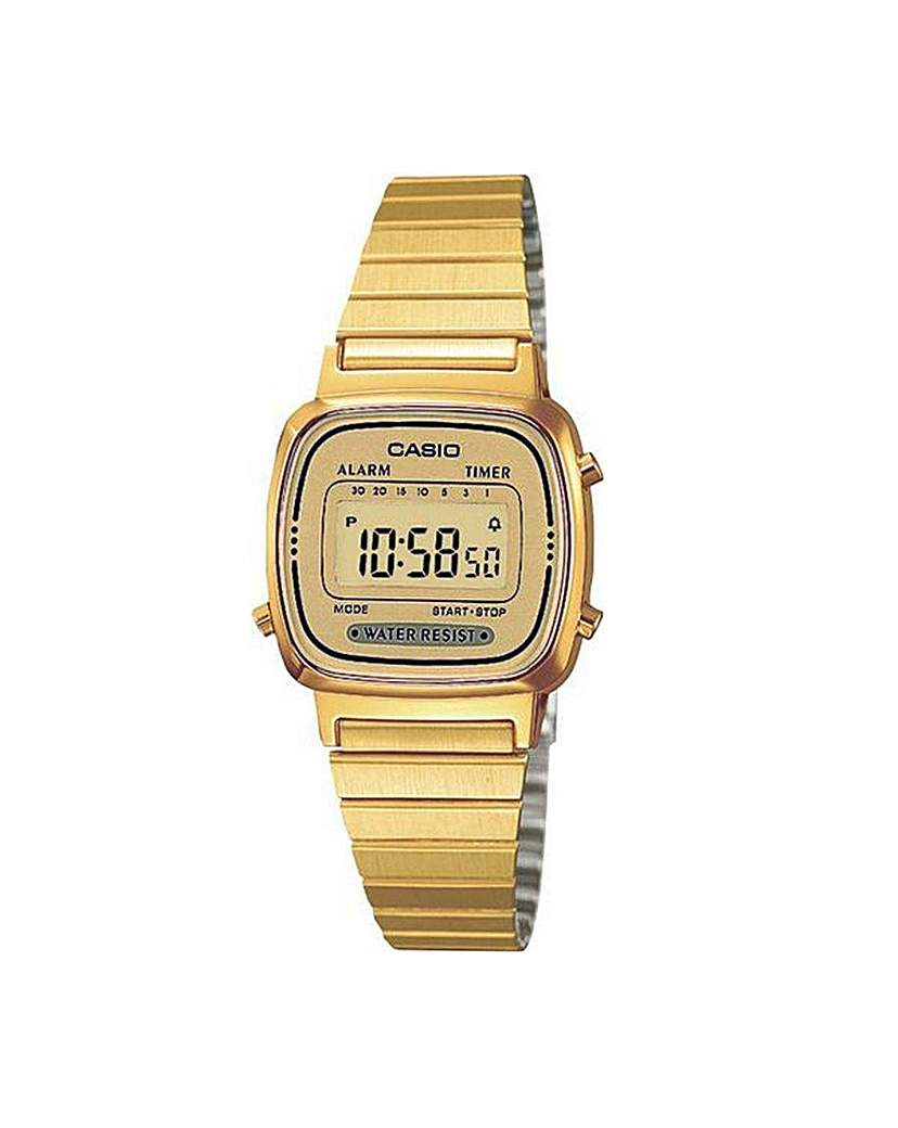 Casio Ladies Classic Chronograph Watch