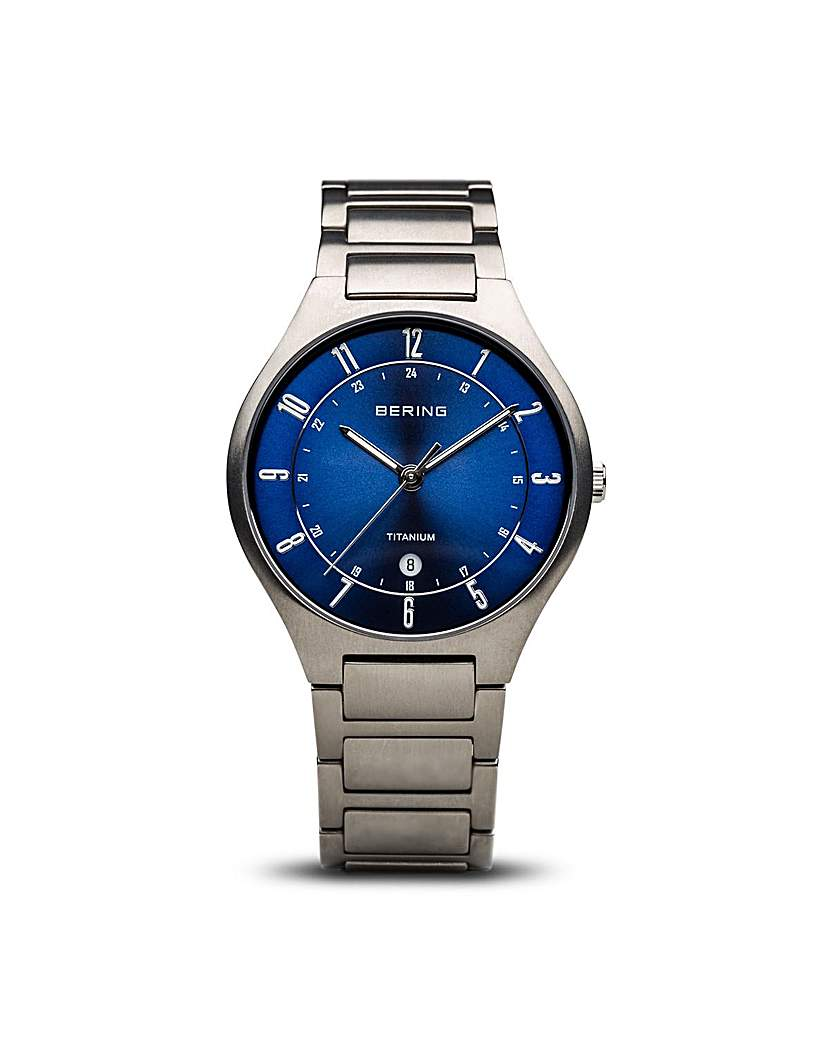 Bering Titanium Bracelet Gents Watch