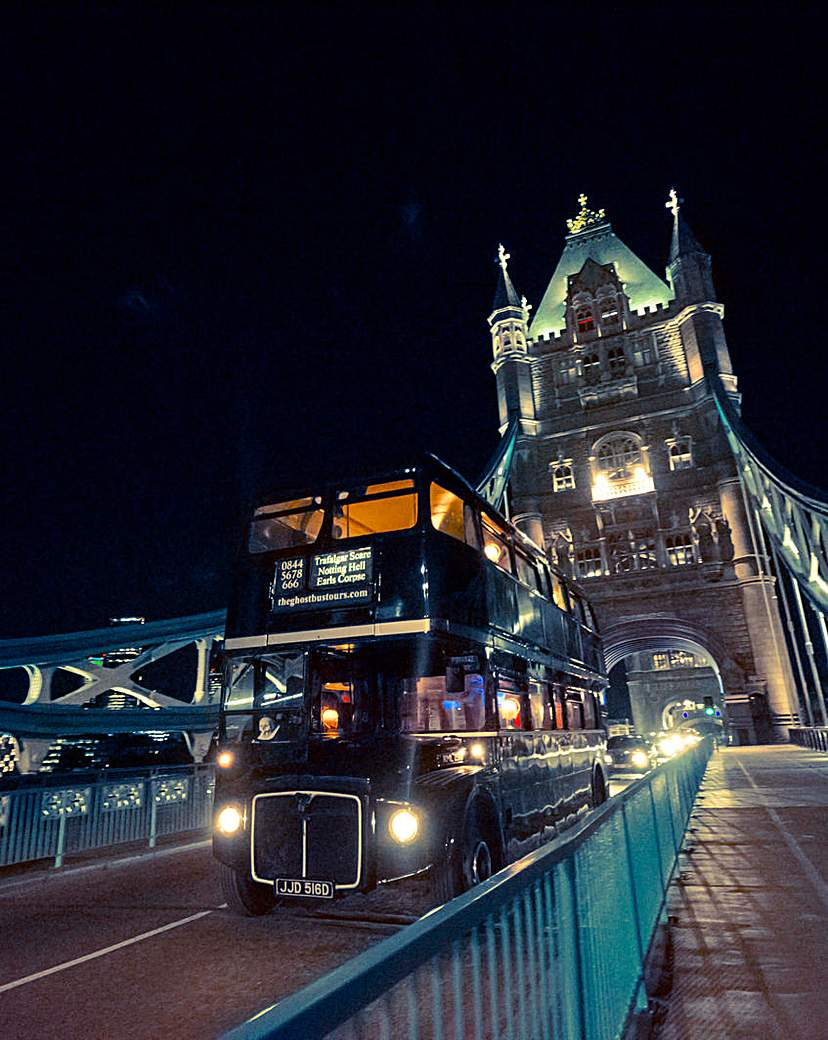 Image of London Ghost Bus Tour For Two