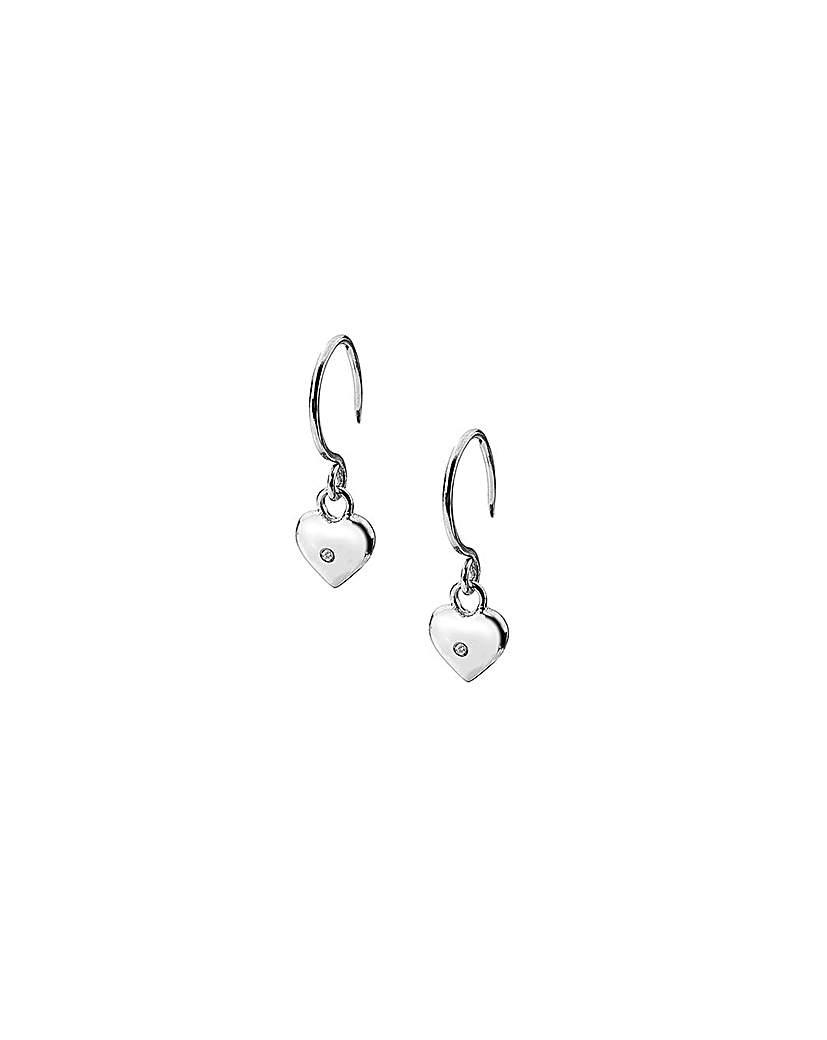 Lily & Lotty Mimi Heart Drop Earrings