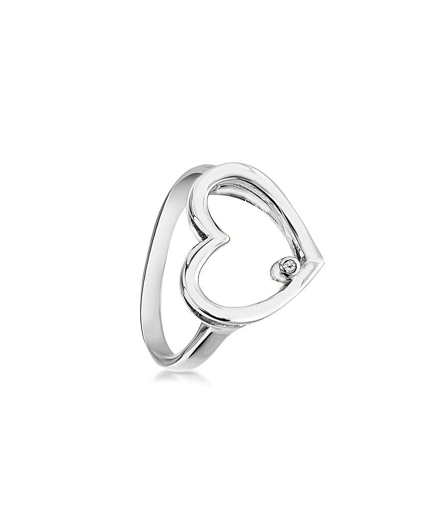 Lily & Lotty Agatha Heart Ring
