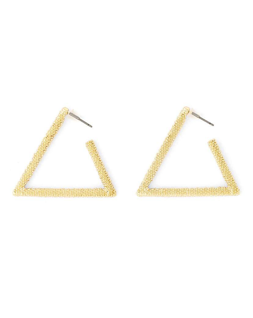 Simply Be Triangle Hoop Earrings