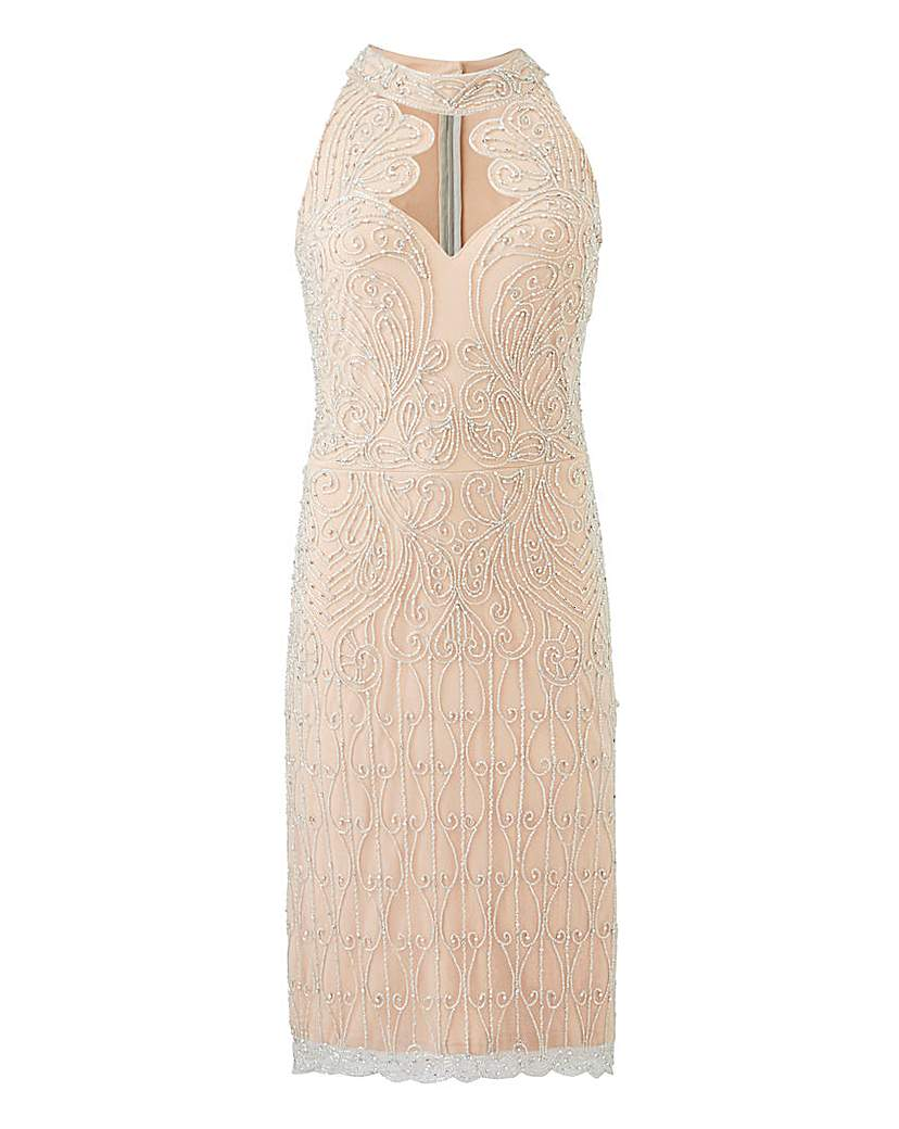 Joanna Hope Joanna Hope Beaded Bodycon Dress