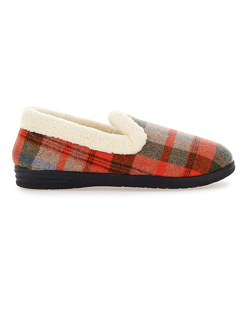 Cushion Walk Tab Slippers E Fit