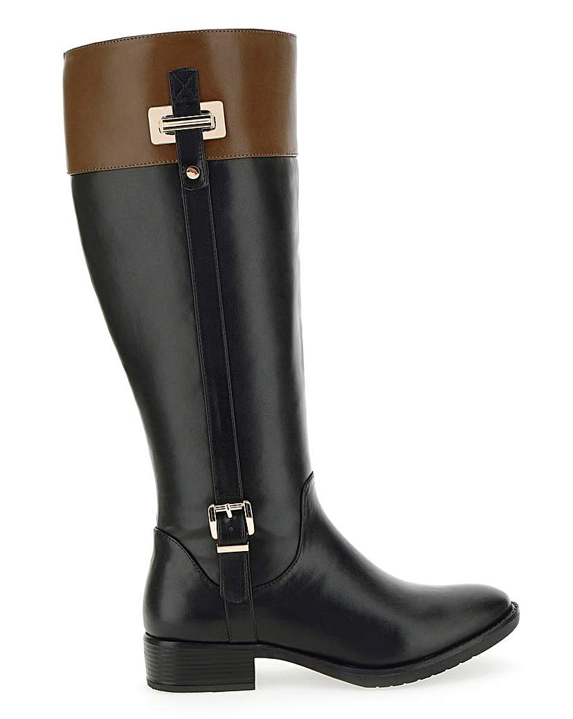 JD Williams Riding Boots E Fit Extra Curvy Plus
