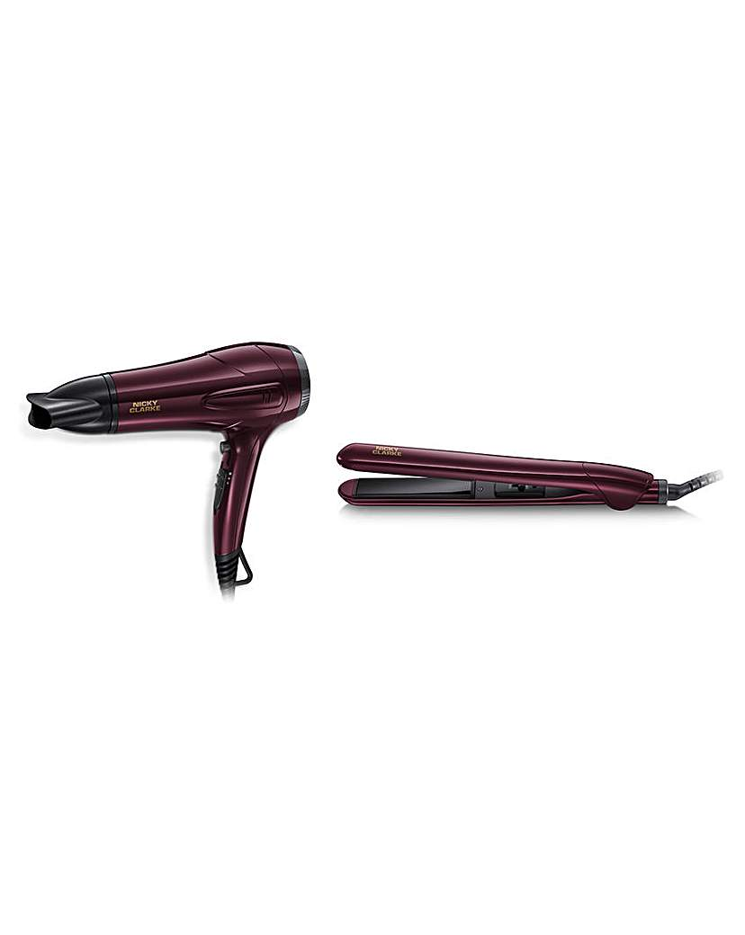 Nicky Clarke Nicky Clarke Hair Dryer and Straightener