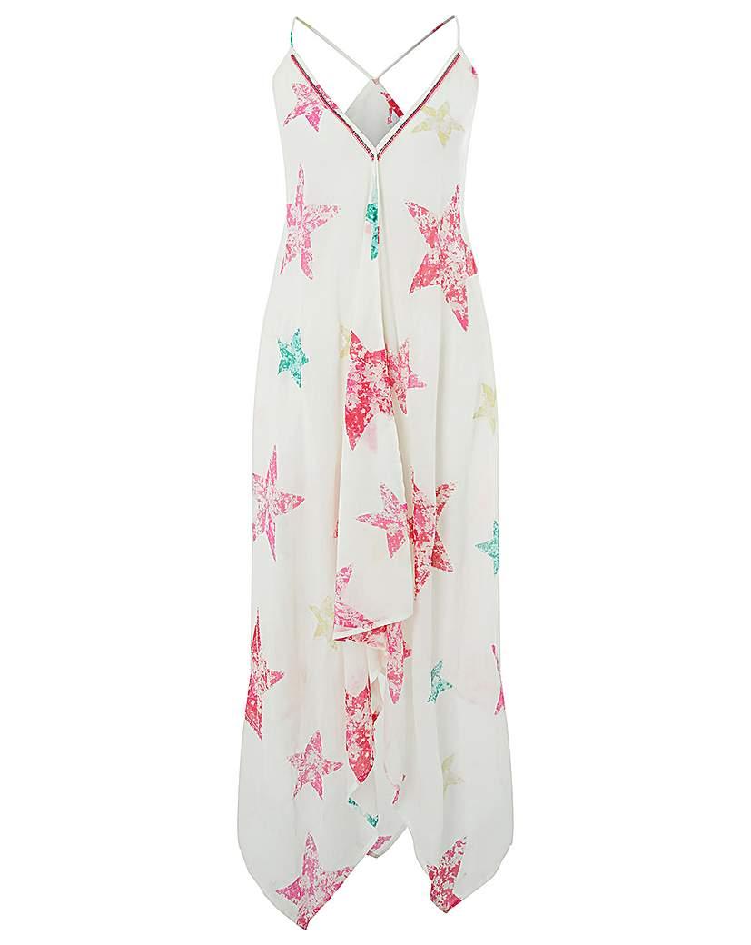 Monsoon Starbella Hanky Hem Dress