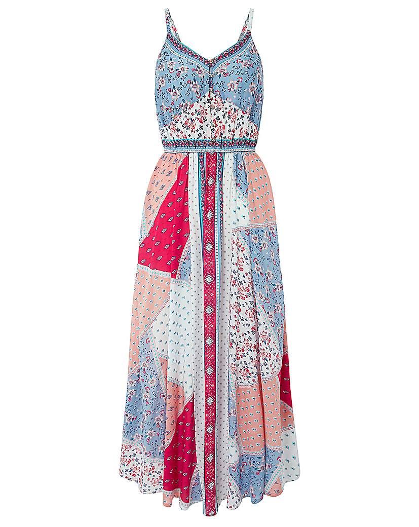 Monsoon Jasmin Hanky Hem Dress